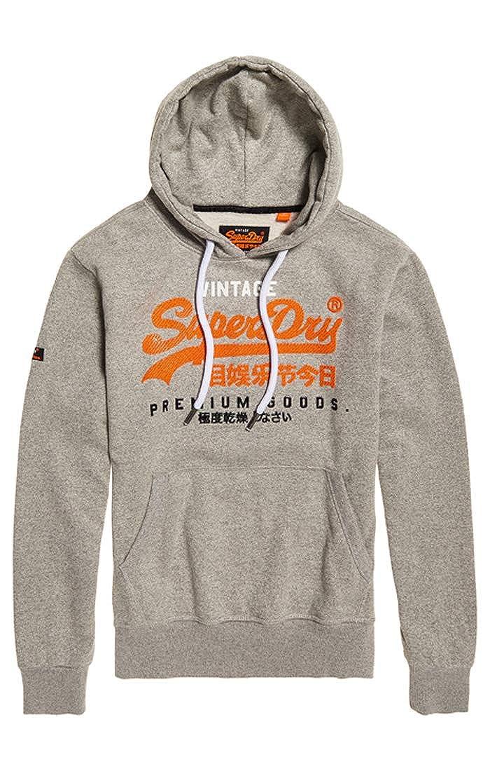 TALLA M. Superdry Premium Goods Tri Infill Hood Sudadera para Hombre