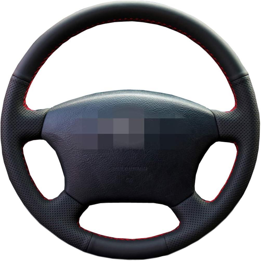 couleur : beige FXPT1201 Housse de volant de voiture Housse de volant en cuir Si/ège universel de 15 pouces Accessoire int/érieur de voiture antid/érapant