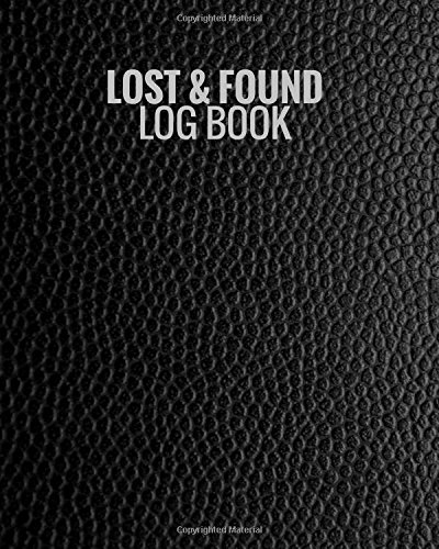 lost found log book black lost property template record all