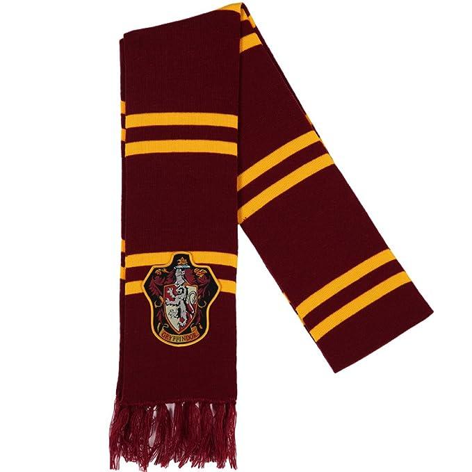 33ddf5ed3e0 Harry Potter Gryffindor Patch Knit Scarf