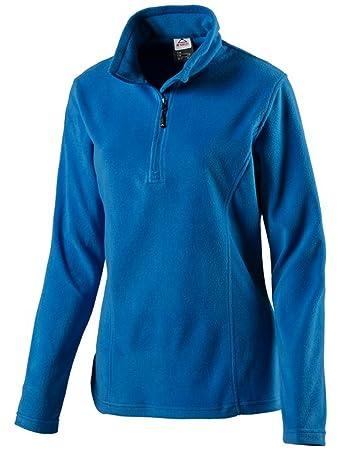 McKINLEY Damen 1//4 Zip Fleece Shirt Skipullover Skirolli Cortina II 4034399 Neu