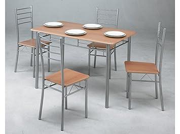 Kit Closet 701039001 - Set Küchentische + 4 Stühle: Amazon.de: Küche ...