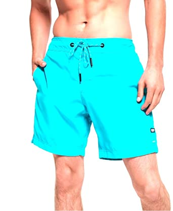 3a47a52c9980f Superdry Men's Surplus Goods Swim Shorts Spearmint (Small): Amazon ...