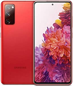 Samsung Galaxy S20 FE G780F 256GB Dual Sim GSM Unlocked Android Smart Phone - International Version, Cloud Red