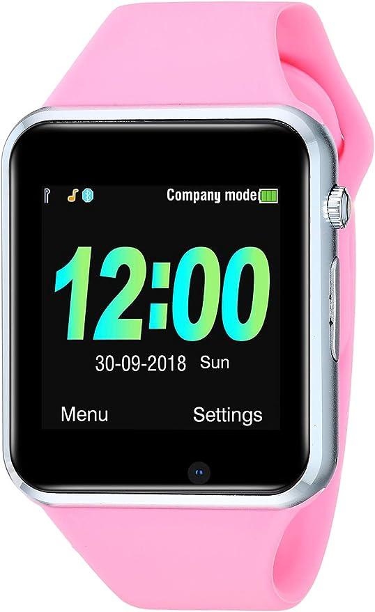 Amazon.com: JACSSO Reloj inteligente, cámara inteligente ...