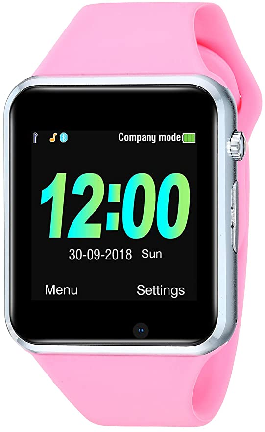 JACSSO Smart Watch, Smart Watches for Girls Women, Bluetooth Smartwatch with Camera SIM TF Card Slot, Gift Smart Wrist Watch Compatible with Android ...