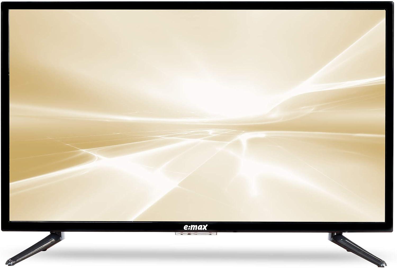 E:MAX E320HXA Android TV 32 pollici 81 cm HD LED 32 Smart TV, Triple Tuner, Android TV 9.0 Pie, Google Assistant, Google Play, Prime Video e Netflix Wi-Fi
