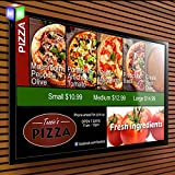 Aluminum Snap Frame Store Sign For Wall Mounted Led Menu Light Box With A2 Size …