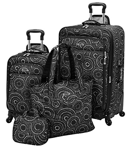 Waverly Boutique 4 Piece Set, Black White Dot by Waverly