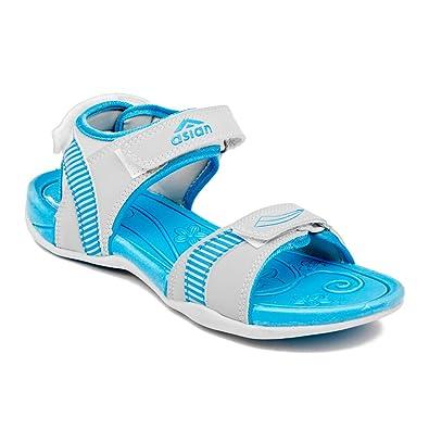 b32fb6eb549 ASIAN Affair-02 Grey Blue Sports Sandals