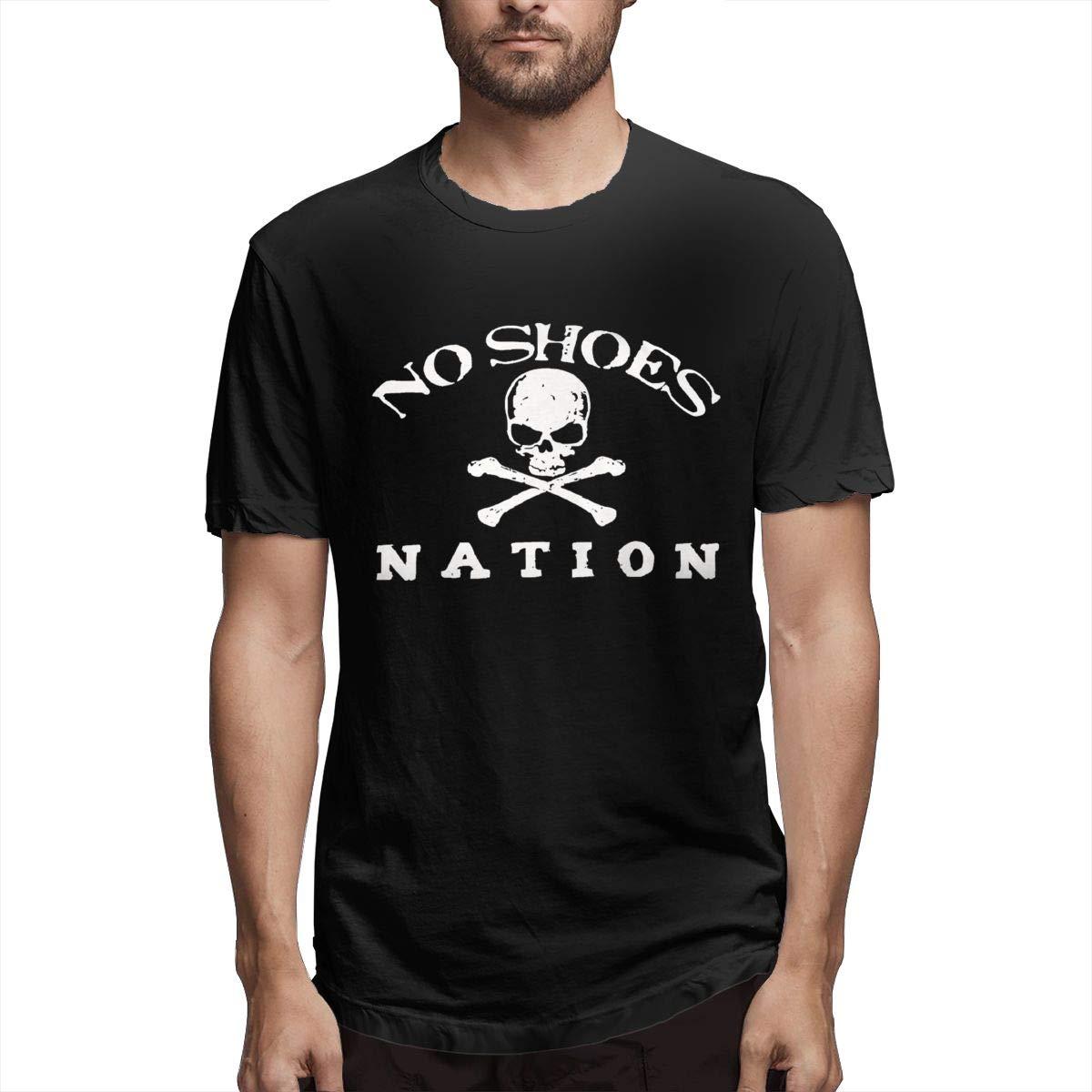 Noshoesnation Retro Vintage Shirt Black