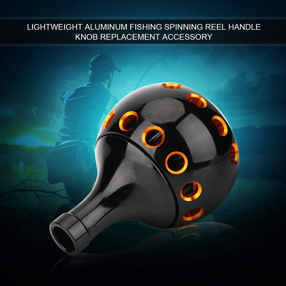 Fishing Handle Knob Aluminum Fishing Reel Handle Knob Metal Spinning Wheel Handle Knob for Fishing Reel