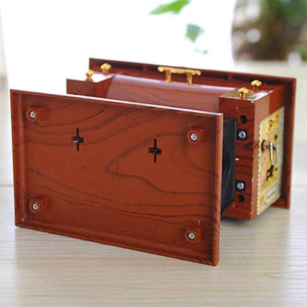 Woodtree ? Mini Vintage lockwork N Caja de música máquina de Coser ...