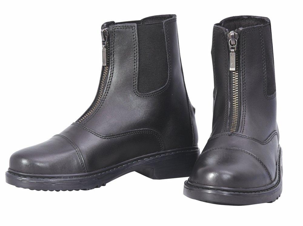 TuffRider Perfect Front Zip Paddock Boot Children Black 1 CH