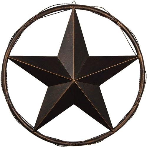 EBEI 23.5″ Metal Barn Star