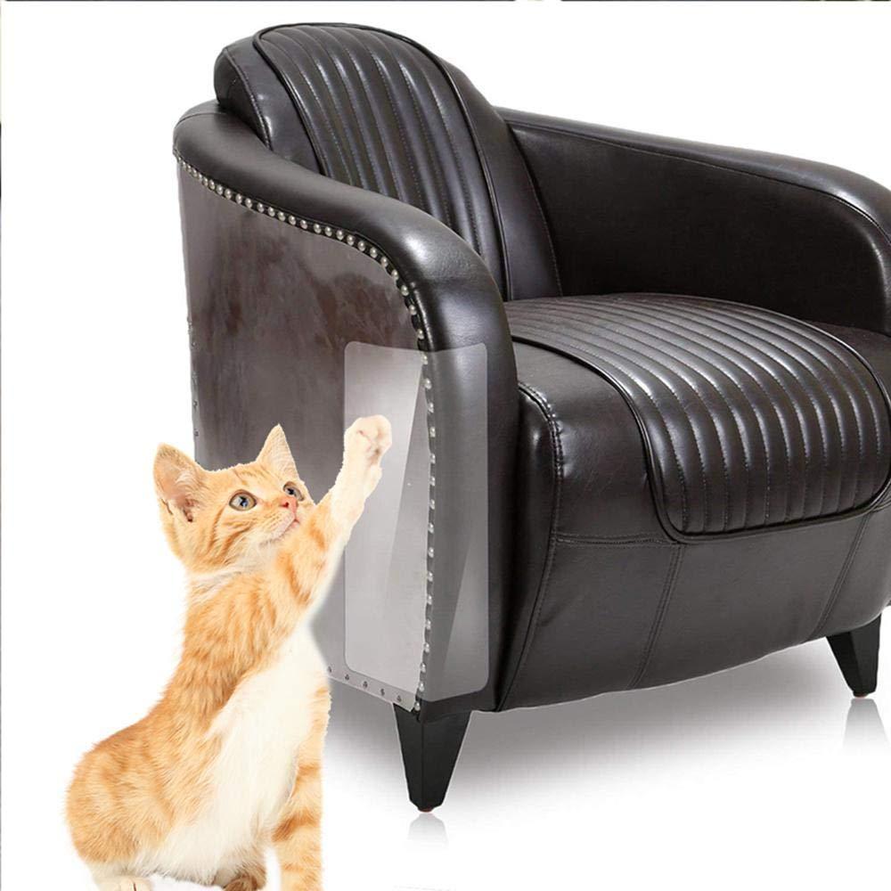 Jakarol Cat Furniture Protector 2 Pz autoadesiva in vinile trasparente antigraffio stop gatto che graffia divano pareti Carseat