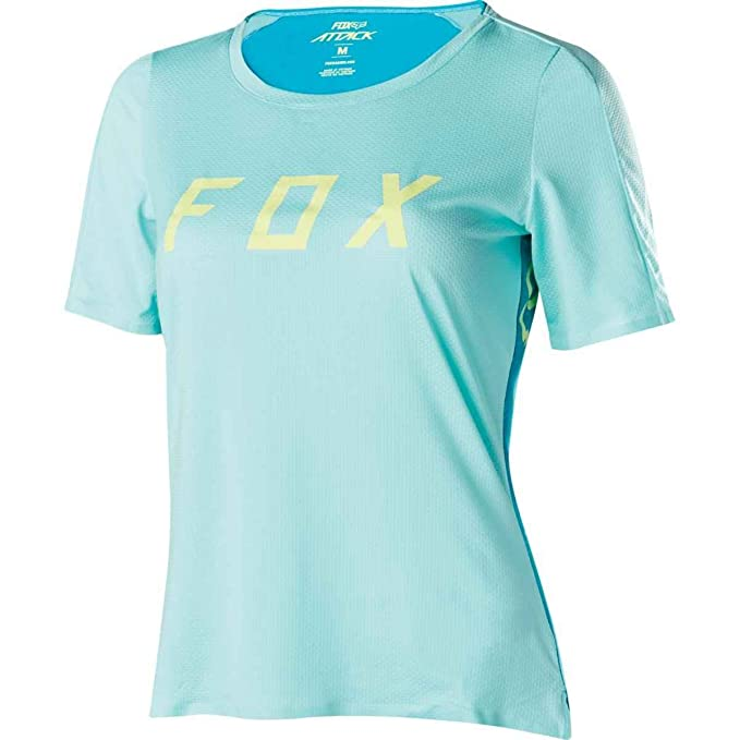 cda88a3c7 Amazon.com   Fox Racing Womens Attack Jersey - 18481-001   Sports   Outdoors