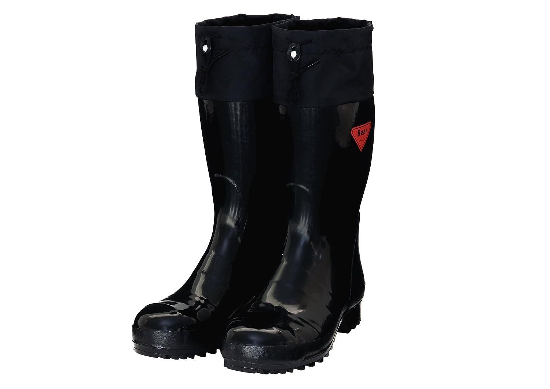 シバタ工業 セーフティベアー#500 安全長靴 ブラック 28.0cm AB101 B01GPUZ99A