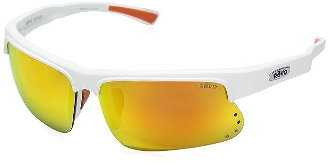 b7fd9012bd3 Amazon.com  Revo Unisex RE 1025 Cusp S Rectangular Polarized UV ...