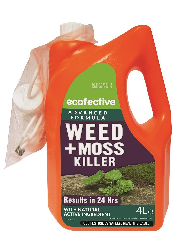 ecofective Path & Patio Weed & Moss Killer 4L Ready to Use Sipcam UK ECF0006