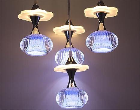 Cristallo pendente in vetro camera da letto della lampada