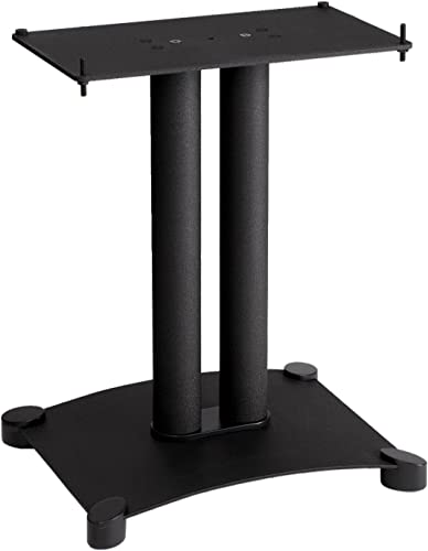 Sanus SFC18-B1 Steel Series 18 Speaker Stand for Center Channel Speakers Black