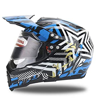 LOLIVEVE Motocross Cascos Off Road Motocicleta Cross Helmet Casco De La Motocicleta Full Face Full