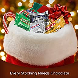 MARS Chocolate Holiday Minis Size Candy Bars Variety Mix 37.26-Ounce Bag