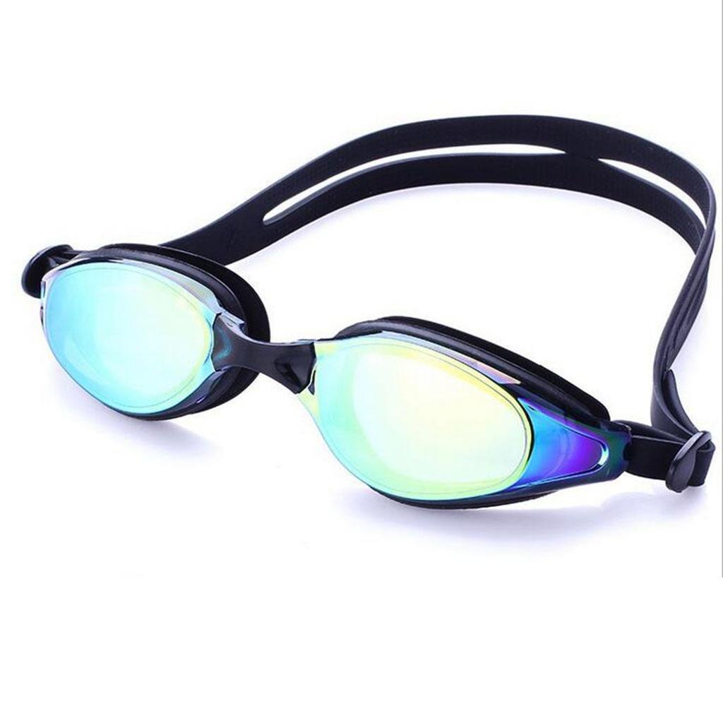 ZHANG occhiali antinebbia impermeabili con rivestimento UV di colore rosa brillante uomini di colore blu e le donne che nuotano gli occhiali di protezione, a7