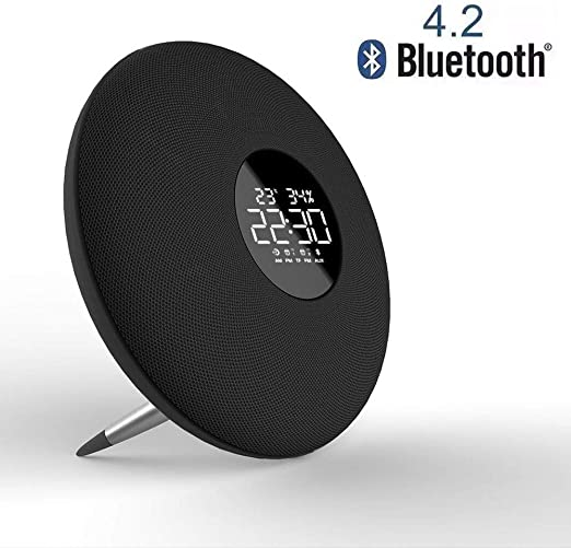 Sonady Altavoz Bluetooth, Doble Altavoz, Espejo de música HiFi ...