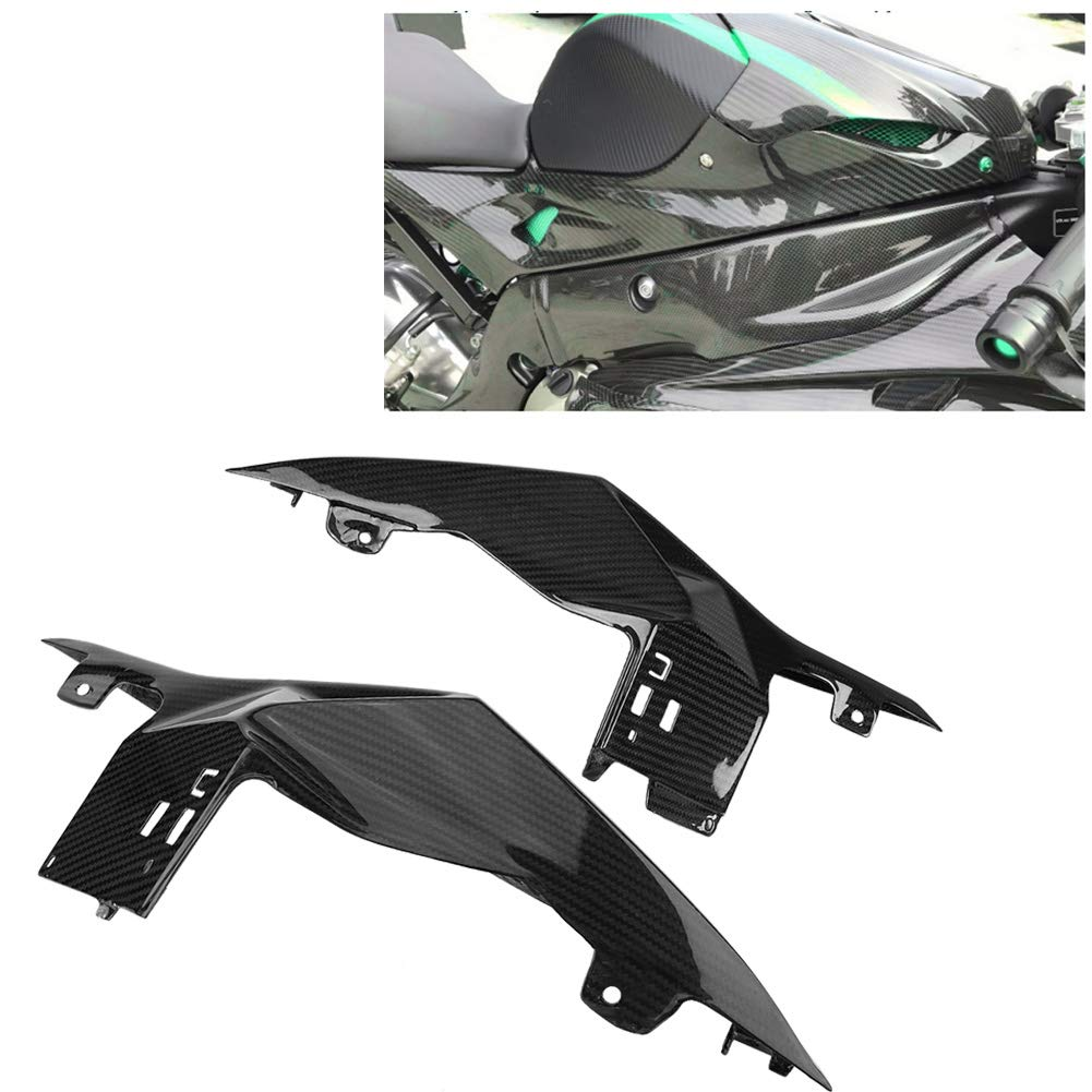 KIMISS Carbon Fiber Motorcycle Modified Rear Tail Seat Side Panels Cover Fairing for BMW S1000RR 15-18 by KIMISS (Image #5)