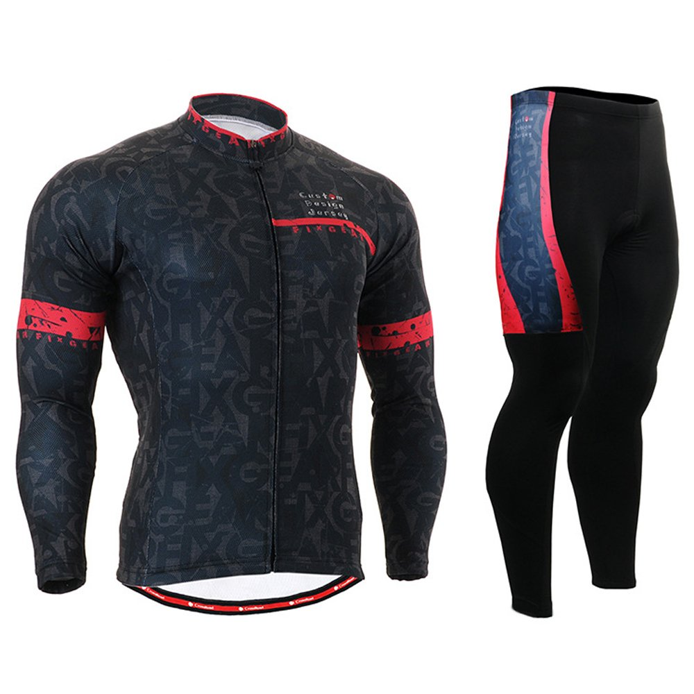 Cycling MTB Motorcycle Workout Compression Sportwear Sport Suit Y92