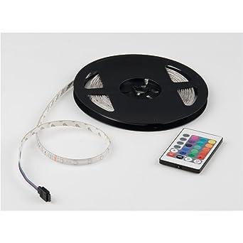 180 LED RGB Strip Lichtleiste Lichtband Licht Schlauch Streifen Wasserdicht 3M
