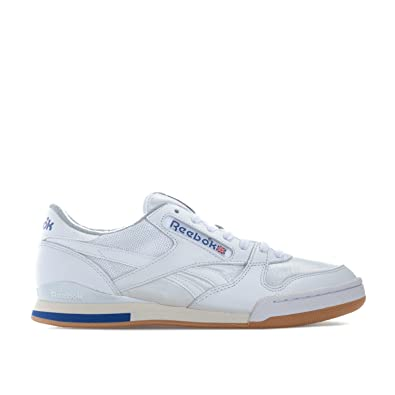 ab2aa038b8299 Reebok Classics Mens Phase 1 Pro Trainers in White  Amazon.co.uk ...