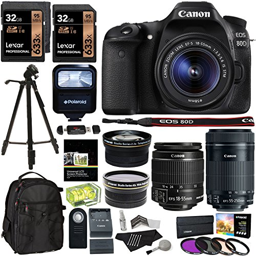 Canon EOS 80D Accessory Bundle 3