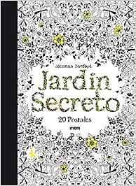 Jardin secreto. 20 postales: Amazon.es: Basford, Johanna: Libros