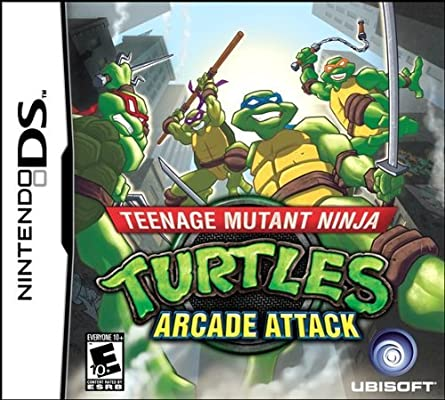 Teenage Mutant Ninja Turtles: Arcade Attack (Nintendo DS) by ...