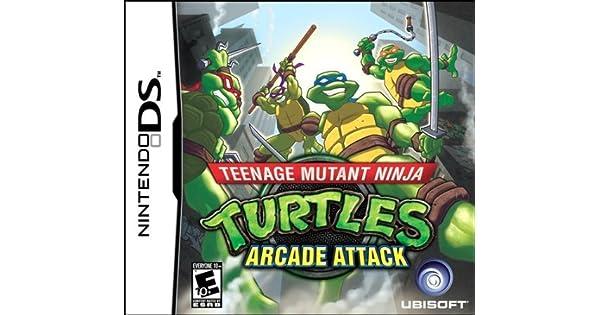 Teenage Mutant Ninja Turtles: Arcade Attack (Nintendo DS) by ...