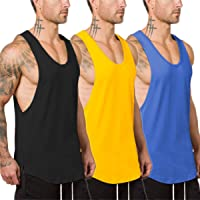 Muscle Killer 3 Pack Men's Muscle Gym Workout Stringer Tank Tops Bodybuilding Fitness T-Shirts
