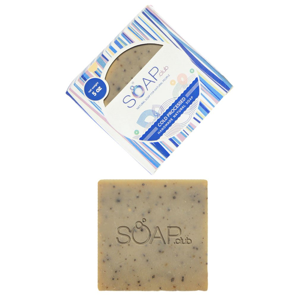 Kona Coffee Natural Soap with Coconut Oil 5oz (1 Pack)