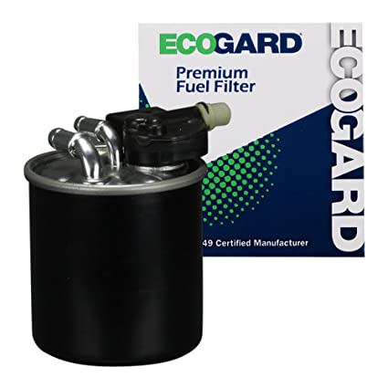 ECOGARD XF10623 Engine Fuel Filter - Premium Replacet Fits Mercedes-Benz