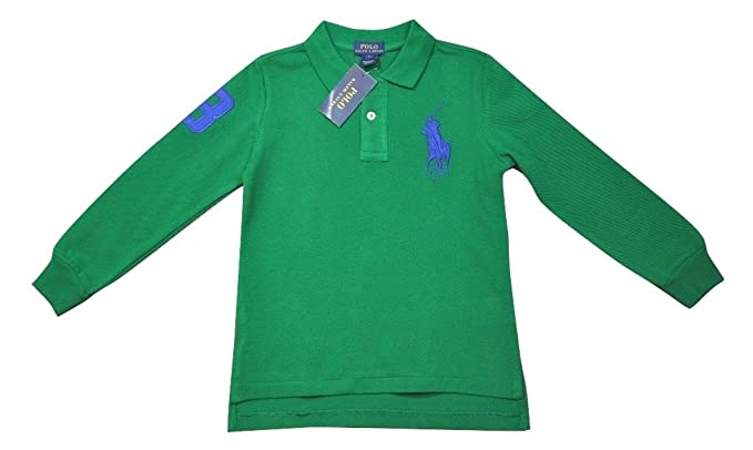 Camiseta de polo Ralph Lauren Big Pony Logo Polo de manga corta ...