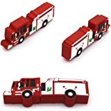 Tomax Feuerwehr Auto rot als USB Stick mit 16 GB USB Speicherstick Flash Drive