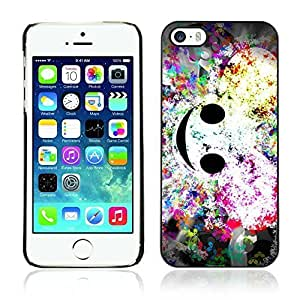 A-type Colorful Printed Hard Protective Back Case Cover Shell Skin for Apple iPhone 5 / 5S ( Cool DEADMAU5 Art )