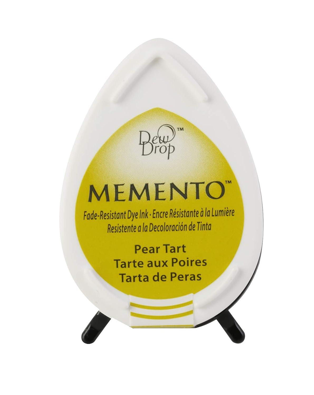Tsukineko Memento Dew Drop Fade Resistant Inkpad of All Kinds, Summer Sky MD000604