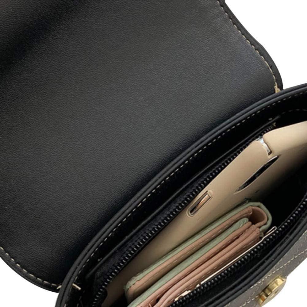 Personalized Simple Rhombic Embroidered Line Lock Buckle Bag Messenger Bag Yotaini Women Exquisite Workmanship Shoulder Bag