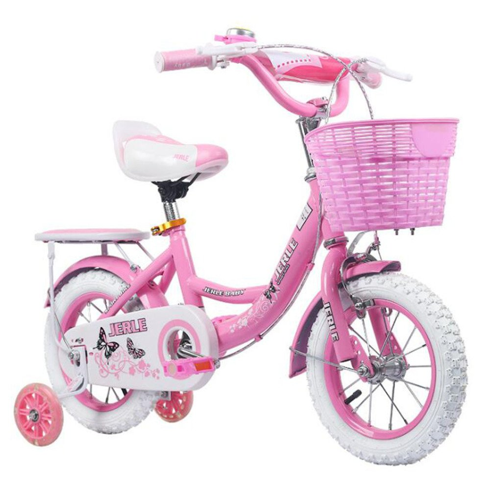 HUALQ Bicycle TB5 Bicycle Girl para Niños 2-10 Baby Pedal Bicycle 12/14/16 Inch