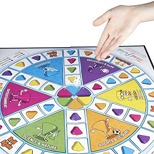 61rAwUxT cL - Hasbro Gaming Trivial Pursuit Family Edition Adult Game