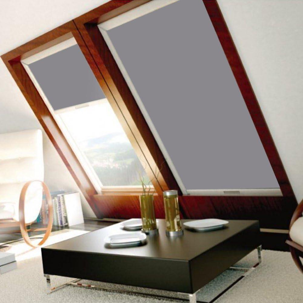 GTL Grigio GXL GHL C02 HENGMEI Tenda a Rullo Oscurante per finestre Velux Tenda a Rullo Oscurante per lucernari Vari Tipi di Dimensioni: GGL GPL