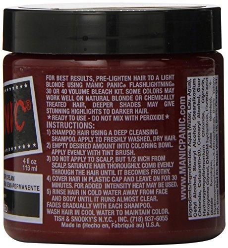 Manic Panic - Rock N Roll Red Hair Dye, 4 fl oz